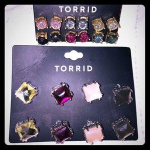 Brand New 2 Sets of Torrid Earrings !!! 2for1 sale